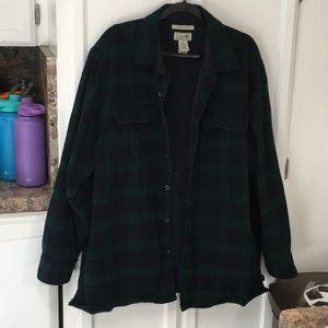 L.L. Bean Traditional XL regular flannel jacket